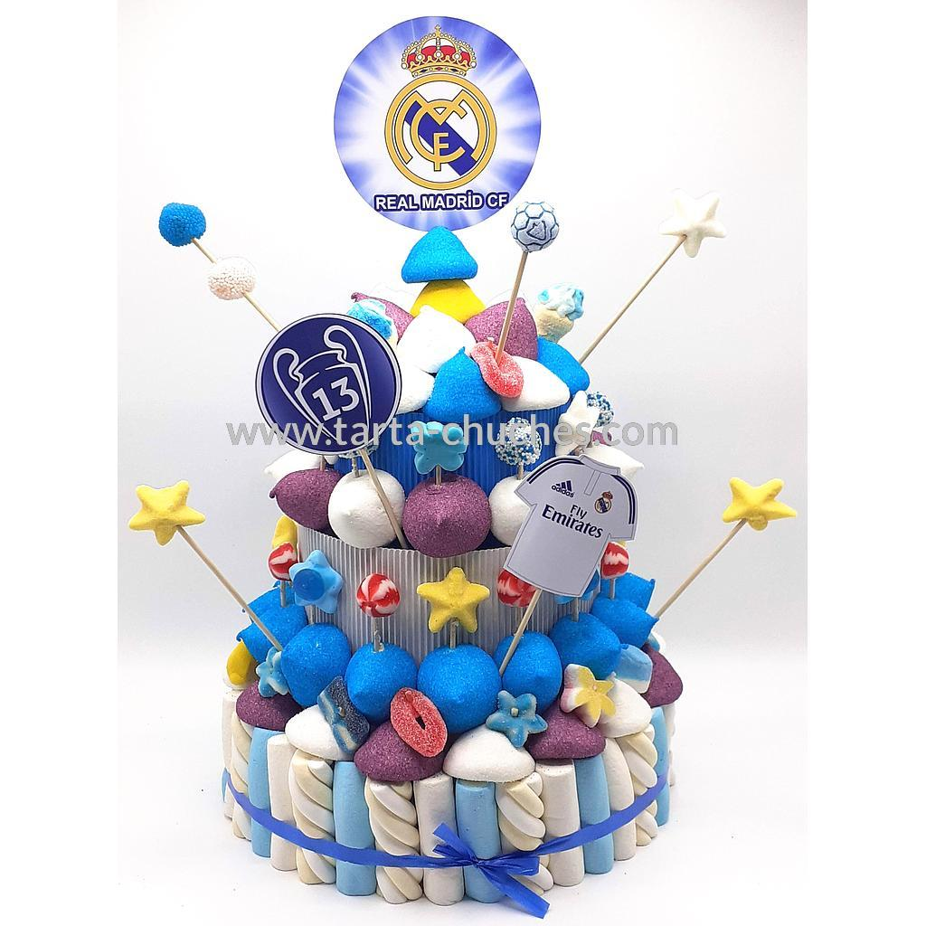 Tarta Chuches Grande Real Madrid
