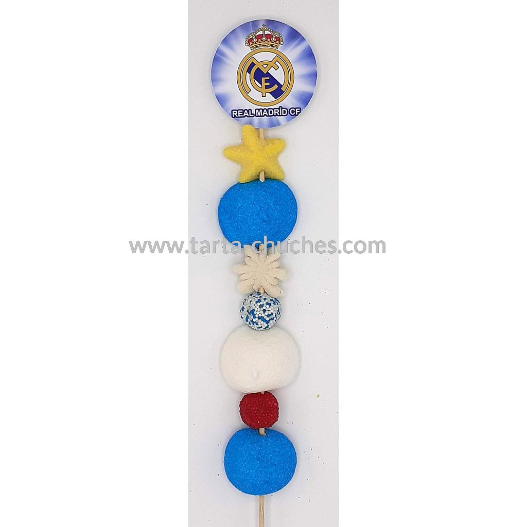 Brocheta Chuches Real Madrid