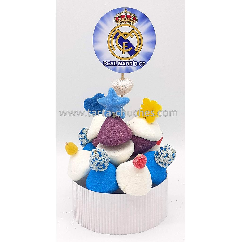 Tarta Chuches Mini Alta Real Madrid